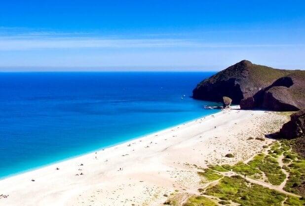Playa Almería Viajeros Low Cost