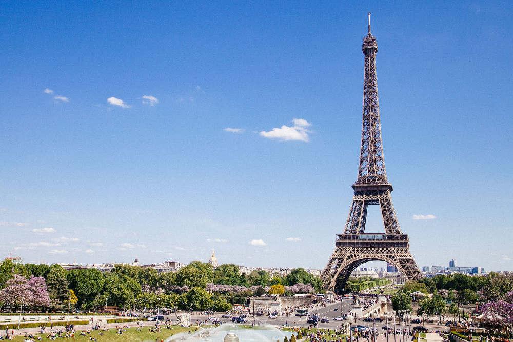 Torre Eiffel Viajeros Low Cost