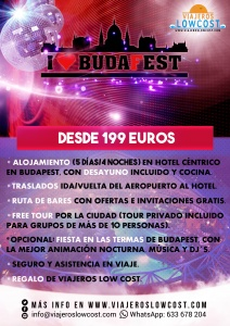 Viajes low cost a Budapest