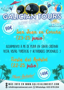 galician tours low cost
