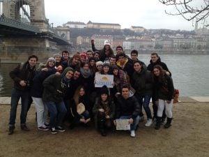 Foto grupo Viajeros Low Cost Budapest