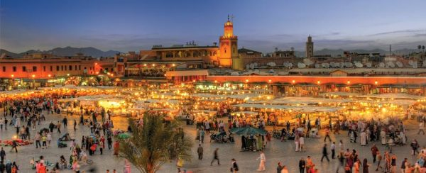 Marrakech Marruecos Viajeros Low Cost
