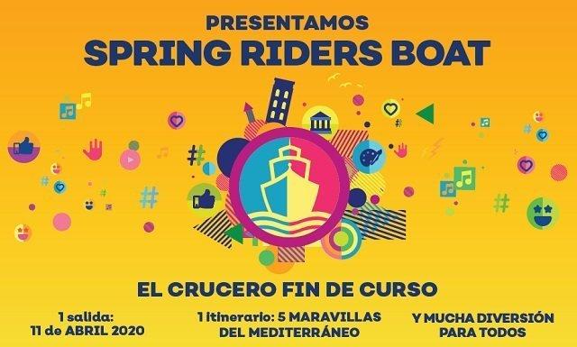 crucero spring riders boat