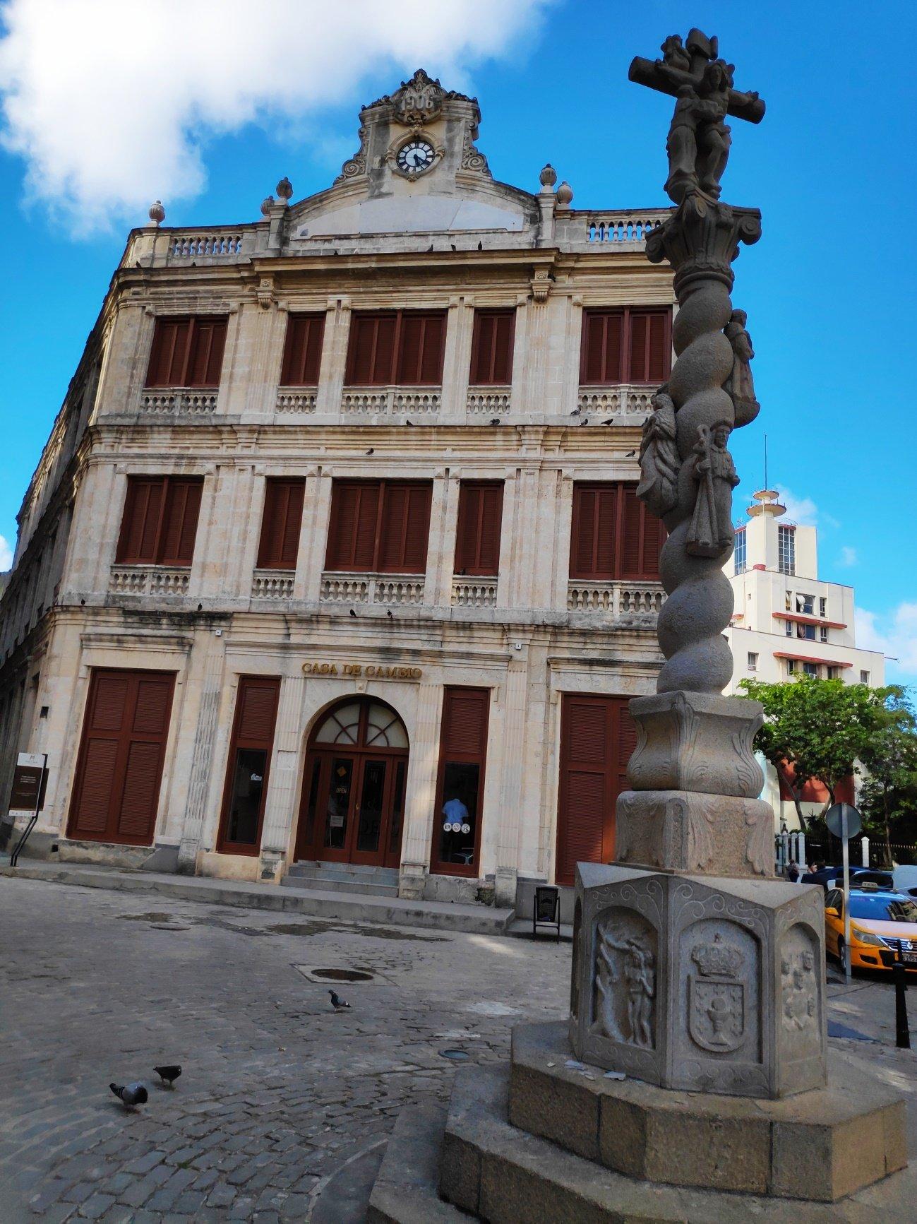 Cruceiro en La Habana